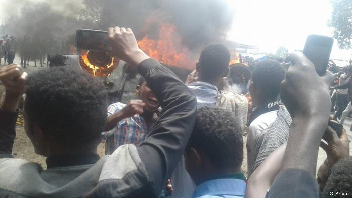 Äthiopien Unruhen in Shashemene