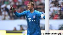 Fußball DFL Supercup Eintracht Frankfurt - FC Bayern