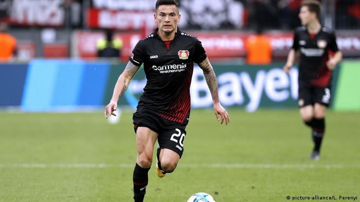 Bayer Leverkusen / Charles Aránguiz (Chile).