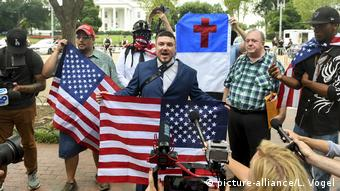 Jason Kessler, the main organizer of the Unite the Right rally
