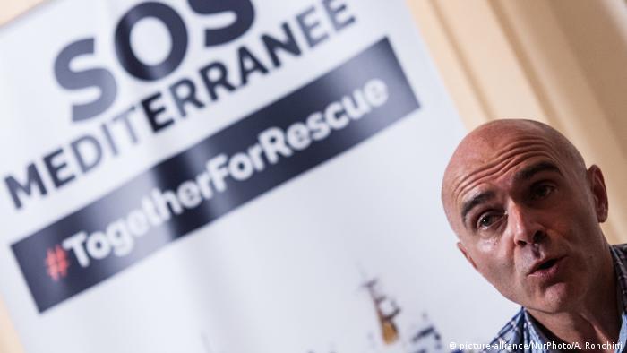 SOS Mediterrenee press conference