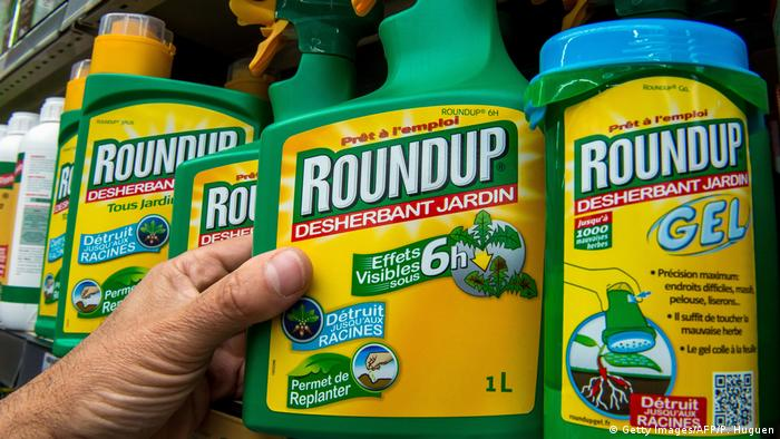 Roundup on sale in France
