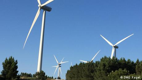 Portugal has come a long way in terms of the production and use of renewable energies (DW/J. Faget)
