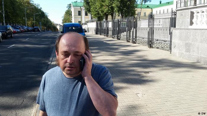 корреспондент DW Павлюк Быковский