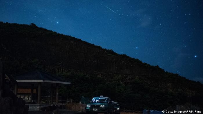 Chuva de meteoros - Hong Kong