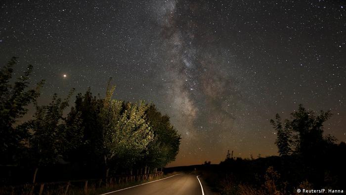 Chuva de meteoros na Espanha