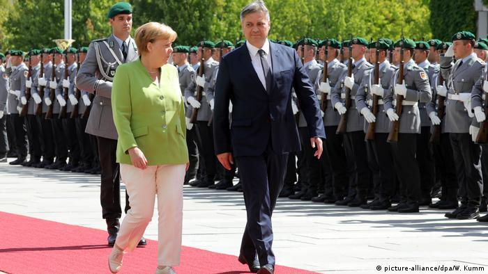 Merkel i Zvizdic