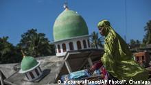 Indonesien Lombok - Schäden nach Erdbeben