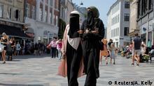 Dänemark Verbot für islamische Gesichtsverschleierung