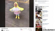 Screenshot Facebook Ducky Rain Coat