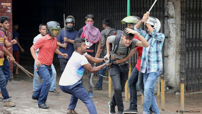 Bangladesch Angriff auf Journalisten (Bdnews24.com)