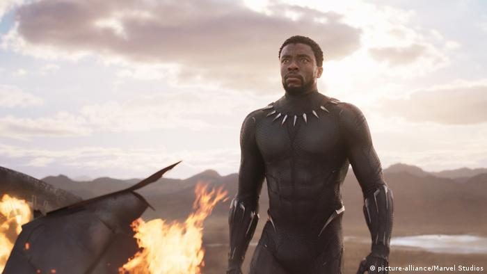 USA Black Panther Chadwick Boseman (picture-alliance/Marvel Studios)