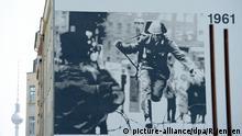 Gedenken zum Mauerbau vor 54 Jahren