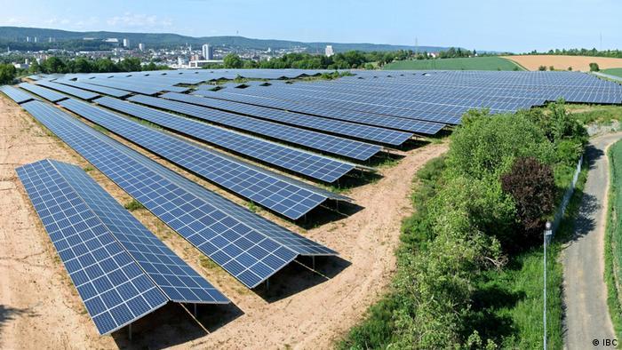 Солнечные батареи в Кайзерслаутерне