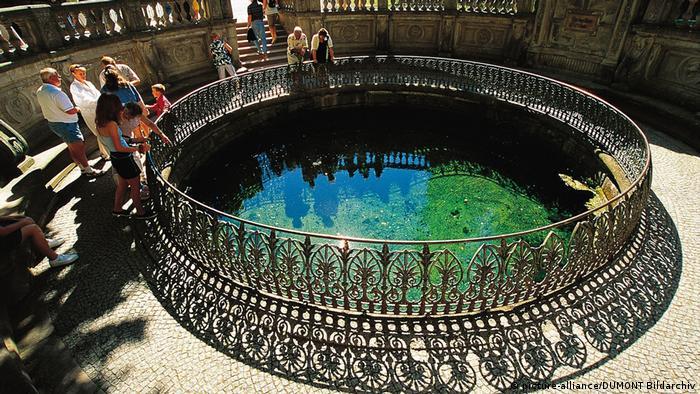 Fonte do rio Danúbio