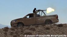 Syrien IS-Kämpfer im Einsatz in al-Qaryatain