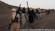 Syrien IS-Kämpfer im Einsatz in