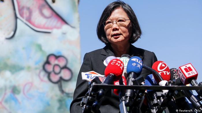 USA Präsidentin Tsai Ing-Wen zu Besuch in Los Angeles (Reuters/R. Chiu)