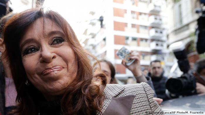 Argentinien Cristina Fernández de Kirchner vor Gericht in Buenos Aires (picture-alliance/AP Photo/M. Pisarenko)