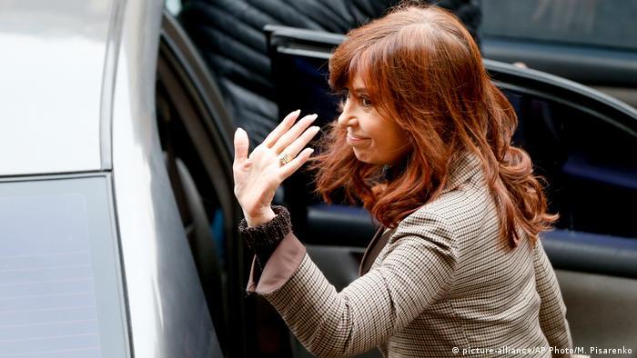 Cristina Fernández de Kirchner, expresidenta argentina.