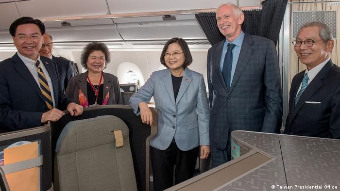 USA Präsidentin Tsai Ing-Wen zu Besuch in Los Angeles (Taiwan Presidential Office)