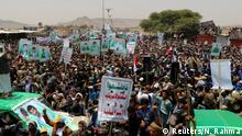 Jemen Beerdigung von Opfern eines Luftangriffs in Saada