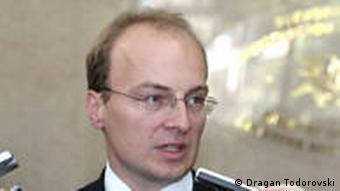 Antonio Milososki mazedonischer Außenminister