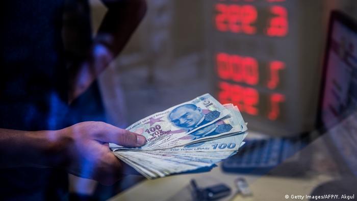 Symbolbild Lira-Erholung stützt türkische Börse (Getty Images/AFP/Y. Akgul)