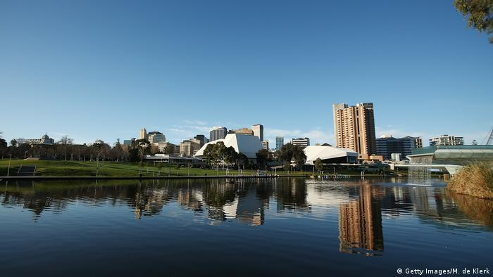 A view of Adelaide city and the River Torrens. (Getty Images/M. de Klerk)