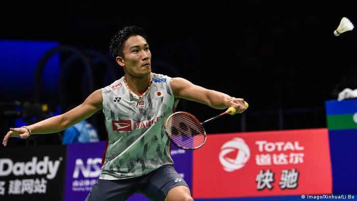 Badminton WM 2018 Kento Momota (Imago/Xinhua/Li Bo)