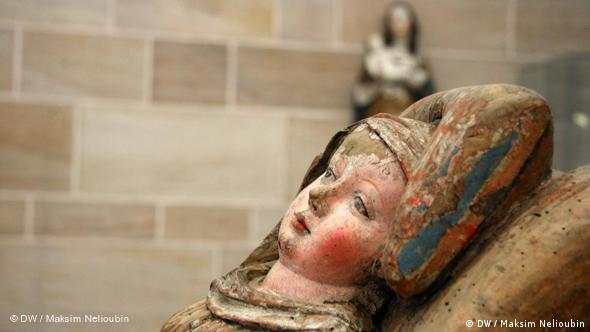 Германский национальный музей. ''Пресвятая Дева Мария после родов'' (Heilige Maria im Wochenbett), начало XVI века. Более подробно об этом музее мы расскажем в отдельном репортаже ''Прогулок по Нюрнбергу''