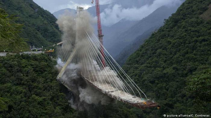 Мост Чиражара, Колумбия