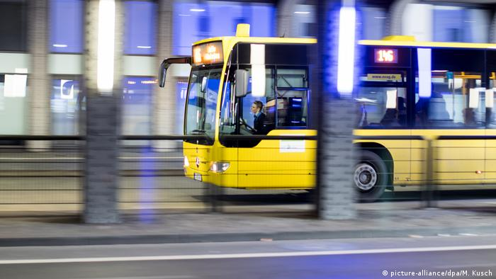 Автобус на улице