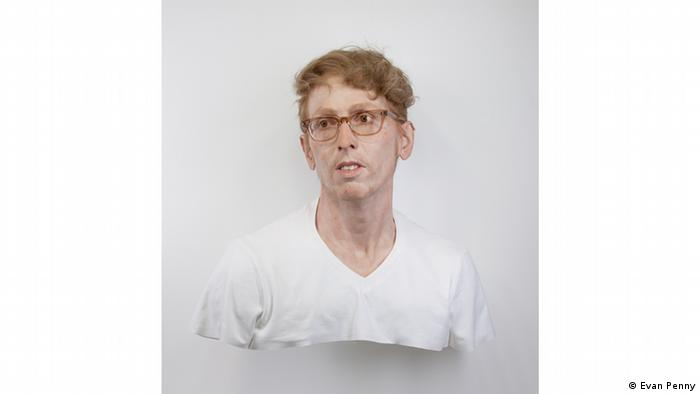 Young Self: Portrait of the Artist as He Was (Not), Variation #1 (2011) by Evan Penny (Evan Penny)