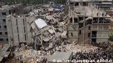 Bangladesch, Dhaka: Rana-Plaza-Katastrophe