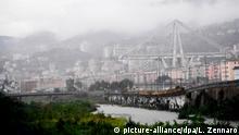 Italien Autobahnbrücke in Genua eingestürzt