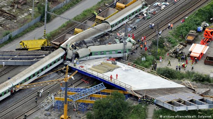Train crash in Studenka, Czech Republic (picture-alliance/dpa/V. Galgonek)