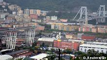 Bridge collapse in Genoa, Italy (Reuters/Str)