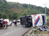 Аварія автобуса у Еквадорі (архівне фото)