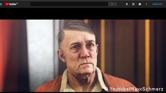 Так виглядав Адольф Гітлер у німецькій версії гри Wolfenstein II