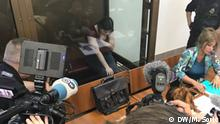 Russland Prozess gegen Anna Pawlikowa in Moskau