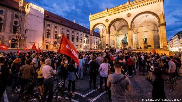 Protests in Munich