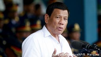 Rodrigo Duterte (picture-alliance/dpa/AP/B. Marquez)
