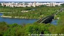 Ukraine Kiew Metro Brücke