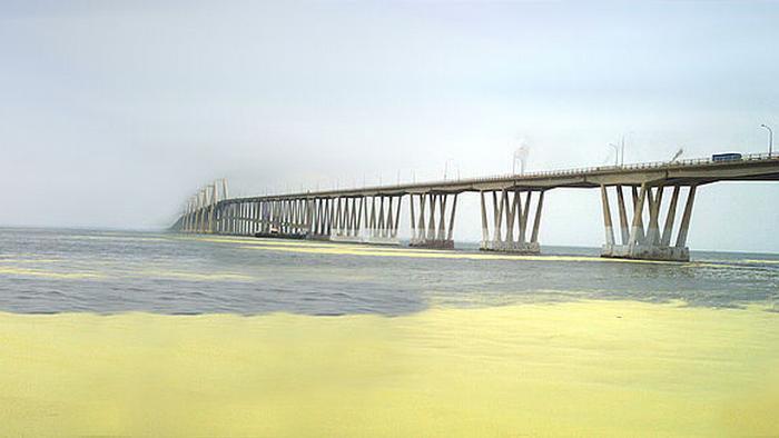 Puente General Rafael Urdaneta, sobre el Lago Maracaibo, Venezuela