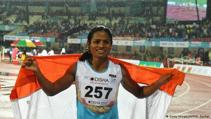 Indien Dutee Chand (Getty Images/AFP/D. Sarkar)