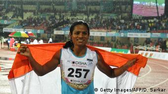 Indien Dutee Chand, Läuferin