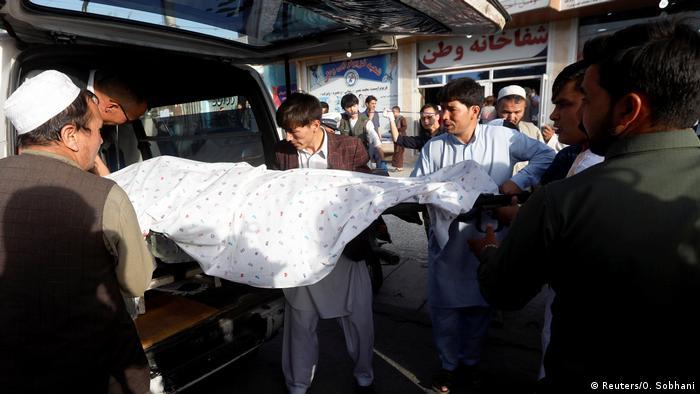 Afghanistan Explosion in Schiitenviertel in Kabul