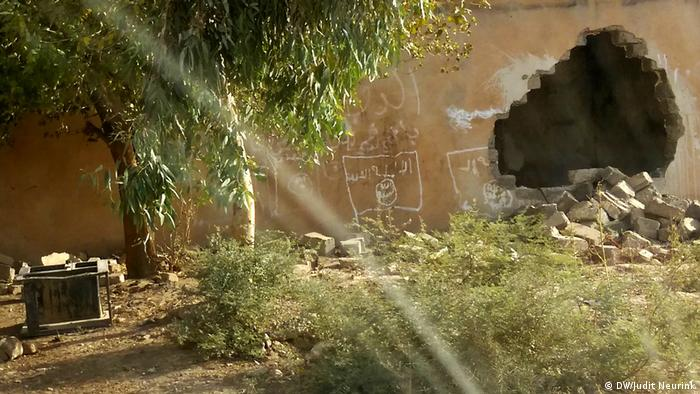 Irak Young IS | Graffiti bei Mosul (DW/Judit Neurink)