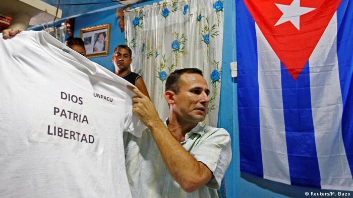 José Daniel Ferrer, opositor al régimen de Cuba.